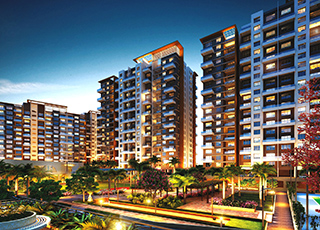 Western Avenue Kolte Patil Elevation