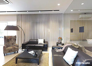 Kolte Patil 24K Opula PROJECT GALLERY Interior -Living Room