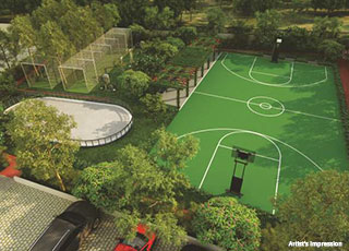IVY Estate Wagholi PROJECT AMENITIES-Basket Ball Court