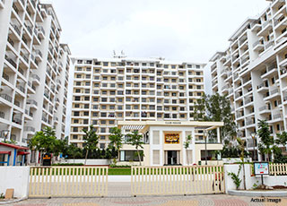 IVY Estate Wagholi PROJECT AMENITIES-Elevation Front View