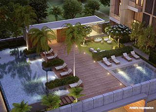 Kolte Patil 24K Atria PROJECT GALLERY Exterior-Swimming Pool