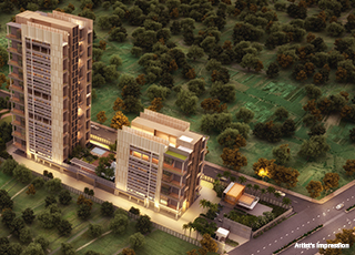 Kolte Patil 24K Atria PROJECT GALLERY Exterior- Elevation Top View