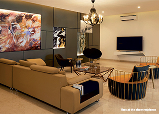 Kolte Patil 24K Atria PROJECT GALLERY Interior -Living Room