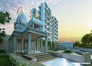 Kolte Patil Three Jewels PROJECT GALLERY Exterior-TEMPLE
