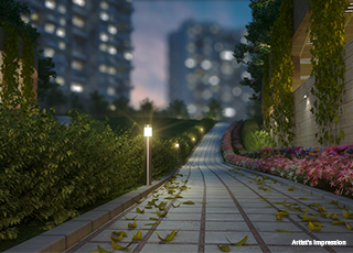 Kolte Patil Three Jewels PROJECT GALLERY Exterior-WALKING AREA