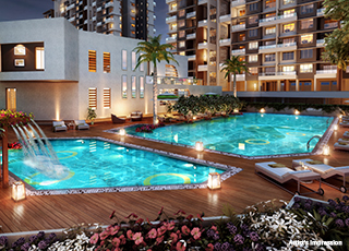 Western Avenue Kolte Patil Swimming Pool