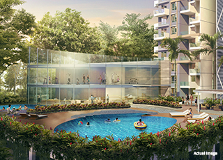 Kolte Patil 24K Sereno PROJECT GALLERY Exterior- Swimming Pool