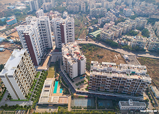Kolte Patil Tuscan Parkland PROJECT GALLERY Exterior -Elevation Topview