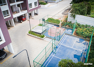 Kolte Patil Raaga Badminton Court