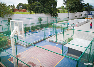Kolte Patil Raaga Basket Ball Court