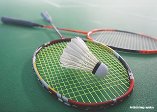 Nora at Life Republic PROJECT AMENITIES- Badminton Court