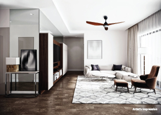 Life Republic i-TOWERS PROJECT GALLERY Interior -Living Room