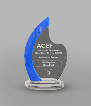 3rd ACEF Awards - Excellence in Real Estate - Residential Project - Life Republic