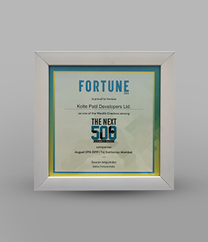 One of The Weath Creators Among The Next 500 Companies - Fortune India - 2019