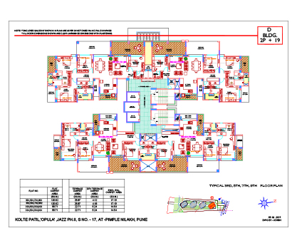Kolte Patil 24K Opula TYPICAL 3RD, 5TH, 7TH, 9TH FLOOR PLAN