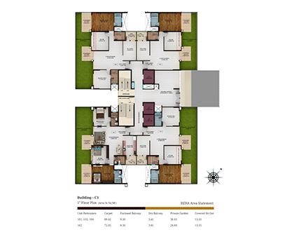 Kolte Patil Tuscan Parkland Building C1-1st Floor