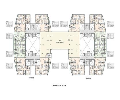 Kolte Patil Mirabilis 2nd Floor Plan