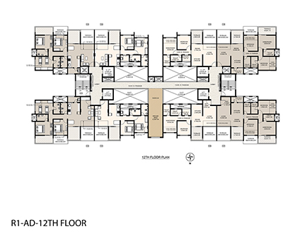 Life Republic First Avenue 12th floor plan