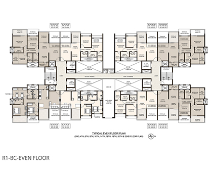 Life Republic First Avenue Even floor plan