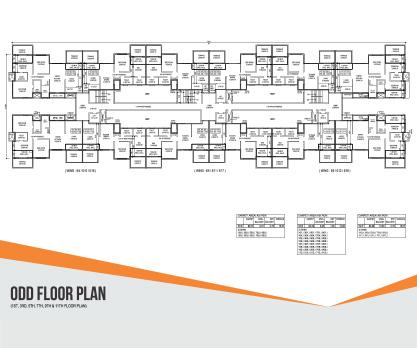 IVY APARTMENTS Odd Floor Plan