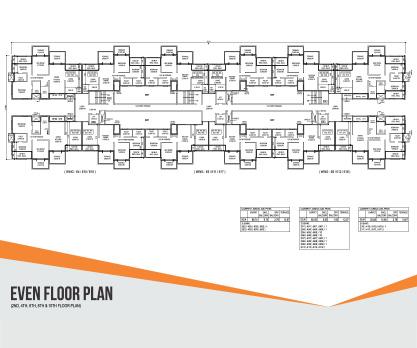 IVY APARTMENTS Even Floor Plan