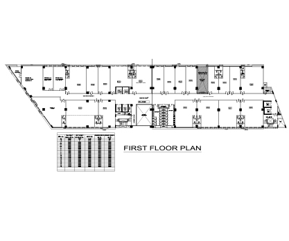 Kolte Patil City Vista First Floor Plan