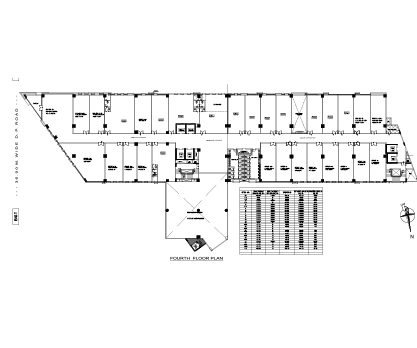 Kolte Patil City Vista Fourth Floor Plan