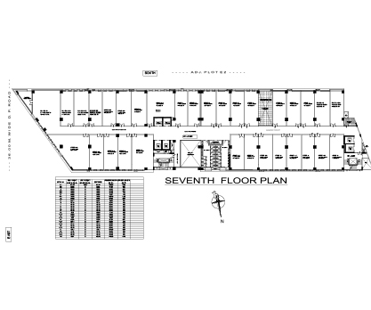 Kolte Patil City Vista Seventh Floor Plan