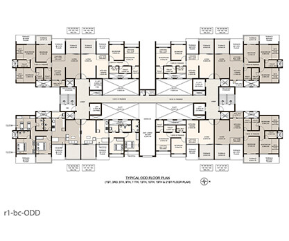 Life Republic Arezo Odd floor plan