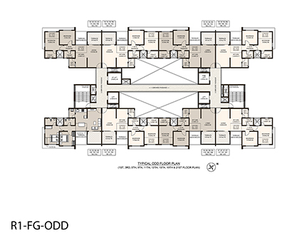 Life Republic First Avenue Odd Floor Plan