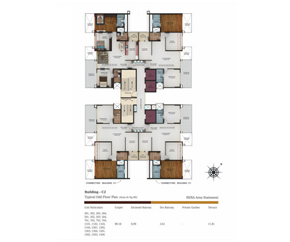 building c2 - odd floor plan