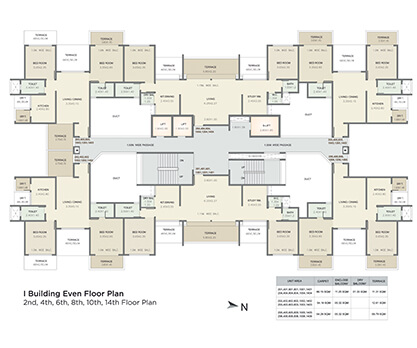 i building even floor plan