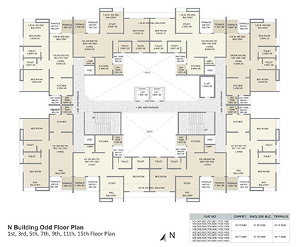 n building odd floor plan