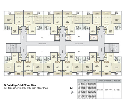 o building odd floor plan
