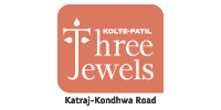 Kolte Patil Three Jewels Moonstone Logo