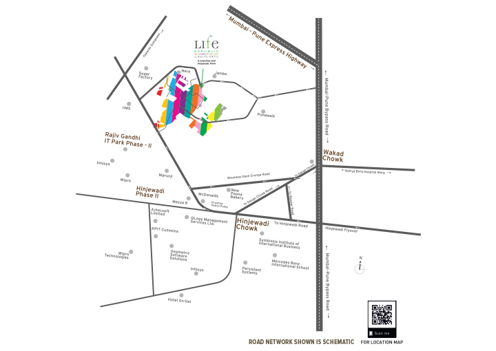 Life Republic Location Map