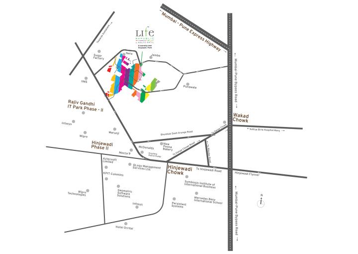 Life Republic ORO Avenue PROJECT Location Map