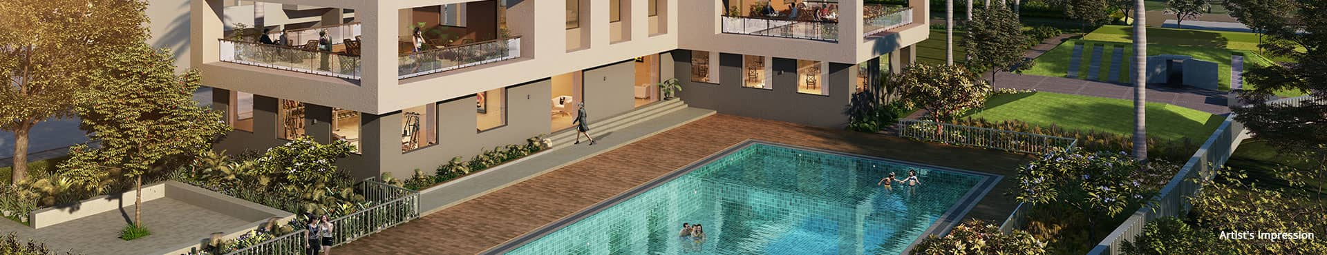 Life Republic Arezo PROJECT AMENITIES- Swimming Pool